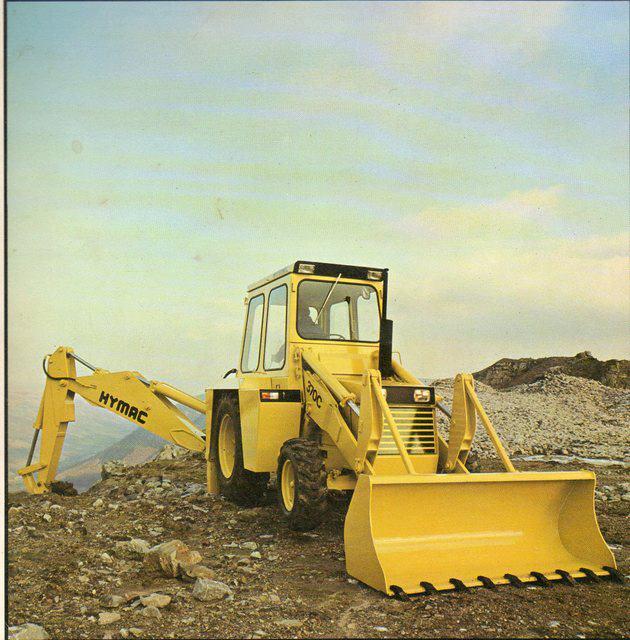 Säker arbetsplats kräver traktorgrävare...